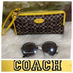 Authentic Coach Wallet/ Wristlet